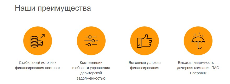 факторинг сбербанк комиссия