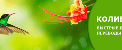 система переводов колибри сбербанк